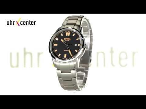 Boccia 3573-02 Titan Herren-Armbanduhr