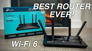 TP-Link AX3000 WiFi 6 - BEST ROUTER EVER | Archer AX50