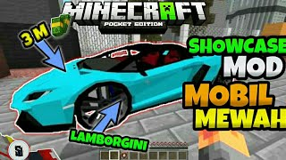 Mod Showcase Banyak Mobil Mewah.....!!!   Minecraft Pe  