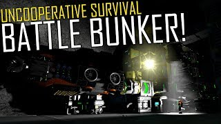 Space Engineers: Battle Bunker & Raising the Defences! - Uncooperative Survival #23