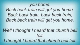 Aerosmith - Back Back Train Lyrics