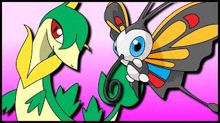 Beautifly  - (Pokémon) - Contrary Servine & Quiver Dance Beautifly [Pokémon Sun & Moon Gladiators]