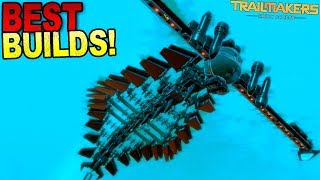 A Beautiful Yet Terrifying Sea Monster, and More BEST CREATIONS! - Trailmakers Early Access Gameplay