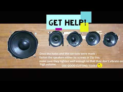 Homemade 12V Sound bar || with Heigh volume || By Softonic