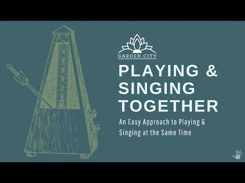 Play and Sing @ the Same Time. A $600 Value Video Series, only $75.