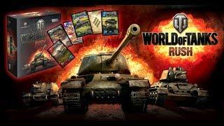 World of Tanks: Rush — настольная игра. Правила игры. Видео-обзор.