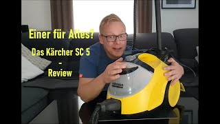 Ein Dampfreiniger für ALLE Fälle: Das Kärcher SC 5 - Langzeit-Review