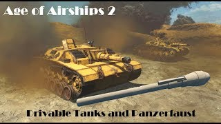 Drivable Tanks and Panzerausts
