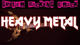 Sick Metal Backing Track (E) | 100 bpm - MegaBackingTracks
