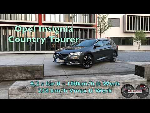 2018 Opel Insignia BiTurbo Diesel  Walkaround & 0-100kph   UbiTestet