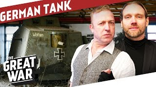 Inside the German A7V WW1 Tank I THE GREAT WAR On The Road