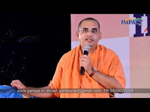 Attitude Matters To Become Hero|Swami Bodhamyananda|TELUGU IMPACT Hyd 2014-Part1