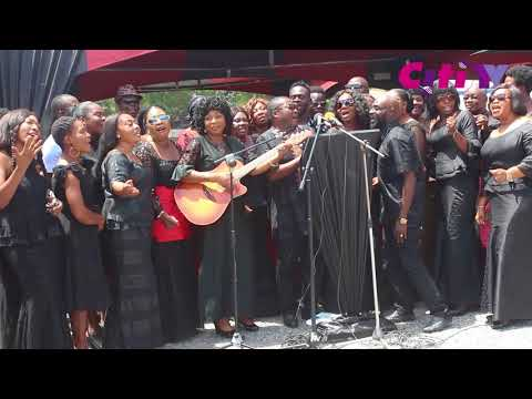 Highlife Legend: Musicians sing for Paapa Yankson at his state funeral