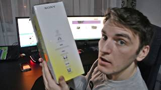 Sony Home entertainment MDR-RF855RK UNBOXING
