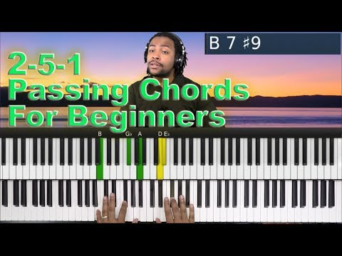 #25: Introduction to 2-5-1 Passing Chords.