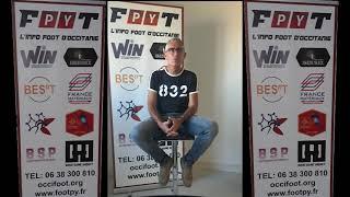 Footpy TV - Interview de Marco SENTEIN, Président du District