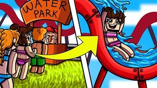 Minecraft: WATER PARK TYCOON! (BUILD AN EPIC WATER PARK & EARN MONEY!) Modded Mini-Game