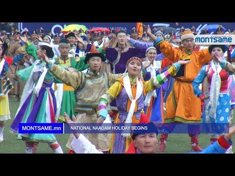 NATIONAL NAADAM HOLIDAY BEGINS