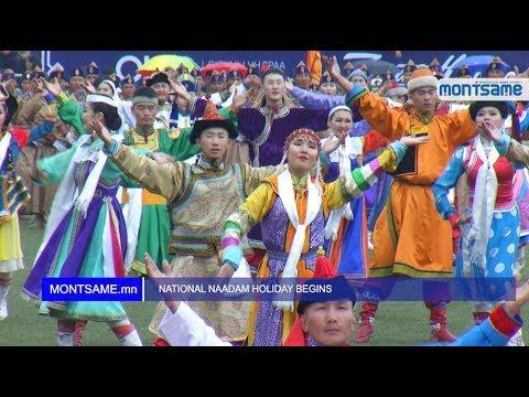 NATIONAL NAADAM HOLIDAY BEGINS