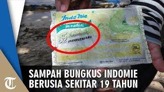 Viral Foto Sampah Bungkus Indomie Bertuliskan HUT RI ke 55, Diperkirakan Berusia Sekitar 19 Tahun