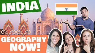 EUROPEANS react to Geography now INDIA! sub eng - hindi