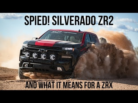Could A 2023 Silverado ZRX Compete With The TRX And Raptor R?
