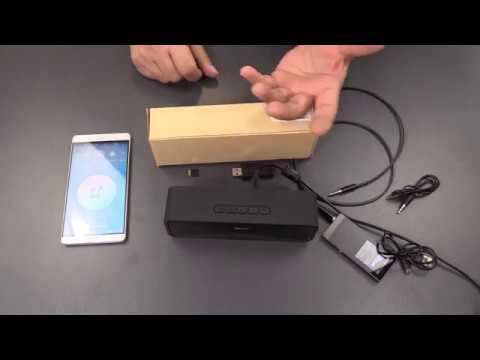 Mini Lautsprecher MIT Blutooth + AUX + MicroSD + USB + Radio