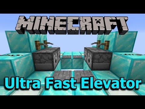 Minecraft elevator soul sand and magma