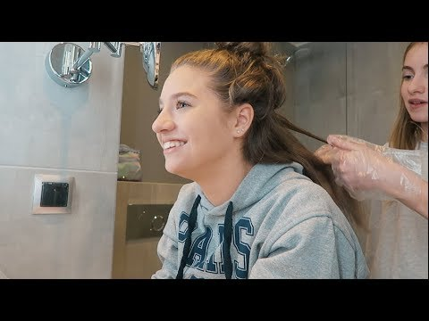 DYING Our Hair *GONE WRONG* | Lauren Orlando