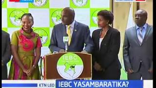 Migawanyiko yadhihirika katika tume ya IEBC baada ya makamishna watatu Kujiuzulu