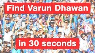 Find Varun Dhawan in 30 seconds - Judwaa 2 Challenge