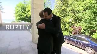 Russia: Putin meets Syria's Assad in Sochi
