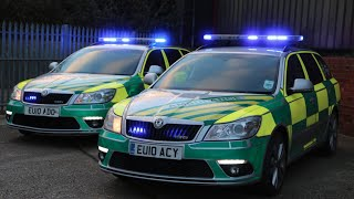 UK Specialist Ambulance Service Video Compilation