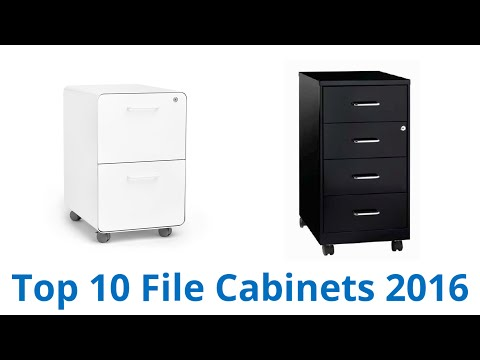 10 Best File Cabinets 2016