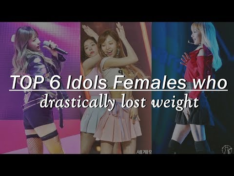 TOP 6 Idols Females who drastically lost weight ...