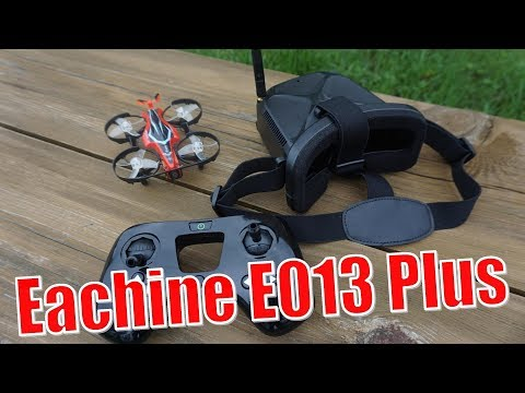 Eachine E013 Plus. Complete FPV kit for beginner
