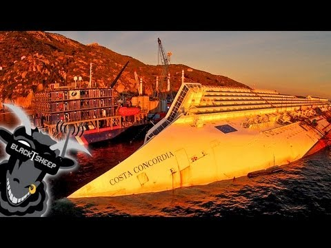 A Quadcopter's-Eye View Of The Costa Concordia Shipwreck