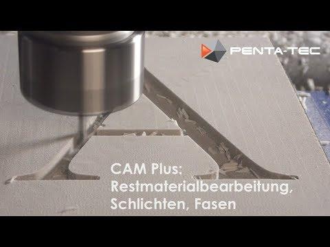 PENTA-NC - CAM Plus: Restmaterial Berabeiten und polieren