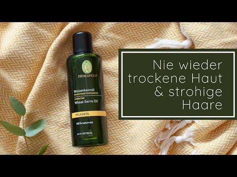 Weizenkeimöl für trockene Haut & strohiges Haar!