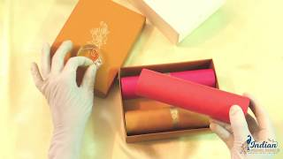 Scroll Wedding Invitation Cards | Indian Wedding Cards | BC134