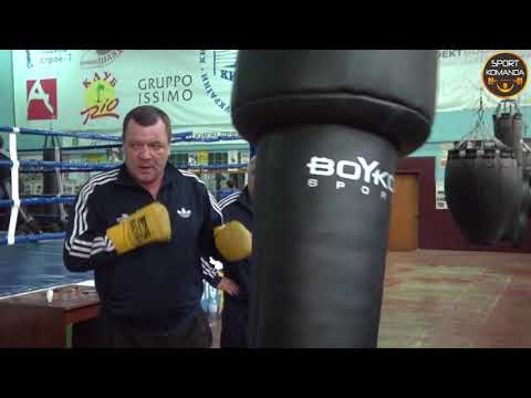 Боксерский апперкотный мешок Бойко-Спорт 180 см кожа, 45-55 кг