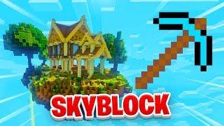 FIRST DIAMOND TOOL! - Minecraft SKYBLOCK #17 (Season 1)