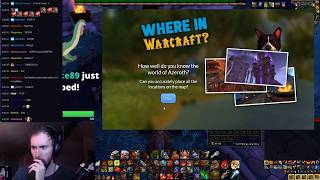 Asmongold Plays World of Warcraft Geo Guesser