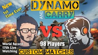 CARRYMINATI PLAYING WITH DYNAMO | PUBG MOBILE HIGHLIGHTS | INTENSE GAME