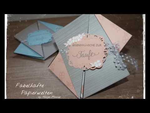 Triangle-Tri-Fold Card zur Taufe / Stampin´ up!