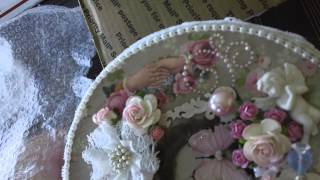 Altered Hat Boxes - Vintage Theme - MAS