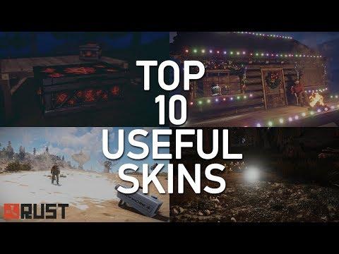 Rust Skins | Epic Fog Machine, Strobe, Speaker, Cauldron, Slime