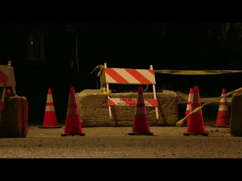 Detroit business owner says sinkhole hurting business