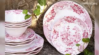The Most Beautiful China Patterns For Your Fall Table | Southern Living