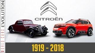 W.C.E - Citroën Evolution (1919-2018)